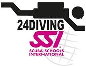 24Diving Logo